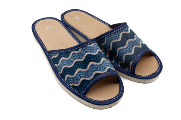Slippers-Blue