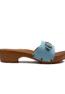Handmade Mules - Sky Blue